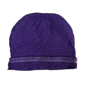 Pure Blankz Purple Organic Cotton Cap